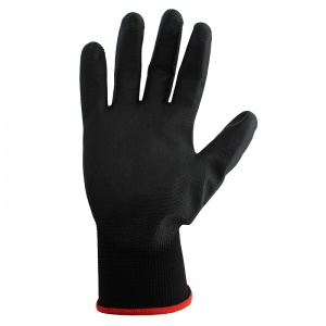 Polyco Matrix P Grip Polyurethane Black Handling Gloves 400-MAT
